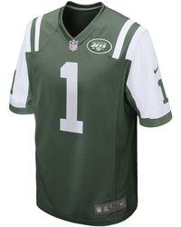 53d00bd32 Nike Nfl New York Jets Game Jersey (darrelle Revis) in Green for Men ...