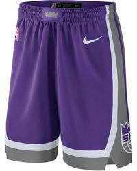 Nike - Short NBA Sacramento Kings Icon Edition Swingman pour Homme - Lyst