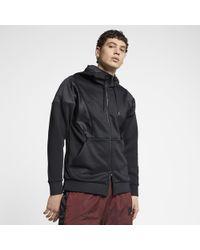 b6bad3a152e9 Nike Jordan Sportswear Wings Lite Pullover Hoodie in Black for Men ...