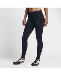 Nike - Essential Mid-rise Running Tights - Lyst