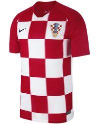 Nike - 2018 Kroatien Stadium Home Herren-Fußballtrikot - Lyst