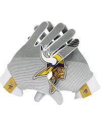 Nike | Stadium (nfl Vikings) Football Gloves | Lyst