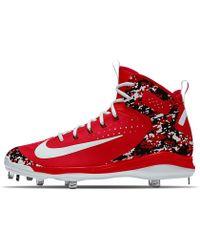 33a8fe4ad79b6 Lyst - Nike Air Huarache 2k Filth Mid Metal Id Men s Baseball Cleats ...