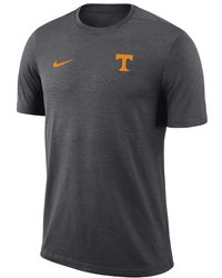Nike - College Dri-fit Coach (tennessee) Men's Short Sleeve Top - Lyst