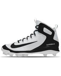 7ac94ac4a401f3 Nike - Alpha Huarache Elite Mid Mcs Id Men s Baseball Cleats - Lyst