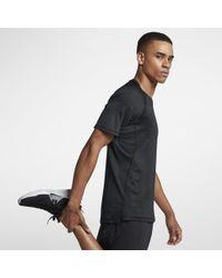 17a74e4df4b2 Lyst - Nike Pro Hypercool Men s 3 4 Sleeve Baseball Top in Black for Men