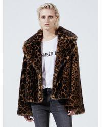 Nili Lotan - Sedella Leopard-print Faux Fur Coat - Lyst
