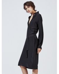 Nili Lotan - Mylene Silk Dress - Lyst
