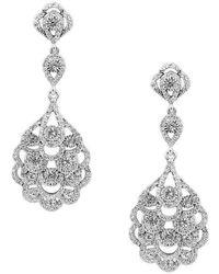 Nina - Eiffel Earrings - Lyst