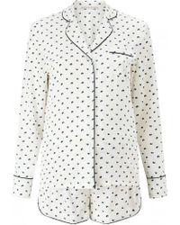 Stella McCartney - Poppy Snoozing Silk Pyjama Set - Lyst
