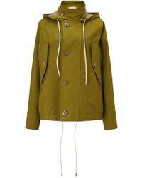 Marni - Hooded Drawstring Parka Jacket - Lyst