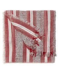 Nine West | Striped Oblong Scarf | Lyst