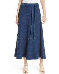 Elizabeth and James - Leila Seamed Skirt - Lyst