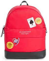 Burberry - Nico Cards Backpack - - Lyst