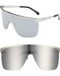 Givenchy - 70mm Rimless Shield Sunglasses - - Lyst