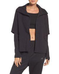 New Balance - Heat Knit Drape Jacket - Lyst