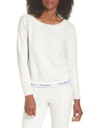 Calvin Klein | Lounge Sweatshirt | Lyst