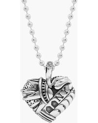 Lagos - 'hearts Of - New York' Reversible Pendant Necklace (online Only) - Lyst