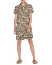 Scotch & Soda - Tropical Print Shirtdress - Lyst
