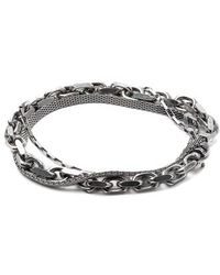 Title Of Work - Triple Wrap Bracelet - Lyst