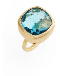 Elise M - Amelie Blue Topaz Ring - Lyst