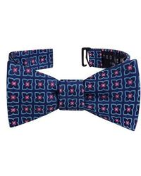 Ted Baker - Square Floral Silk Bow Tie - Lyst
