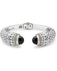 Lagos - Caviar Color Hinge Wrist Cuff - Lyst