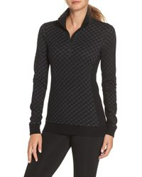 Icebreaker - Affinity Thermo Long Sleeve Half Zip Pullover - Lyst