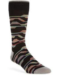 Bugatchi - Mercerized Cotton Blend Socks - Lyst