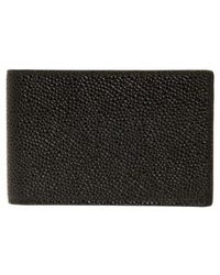 Thom Browne - Pebbled Leather City Wallet - - Lyst