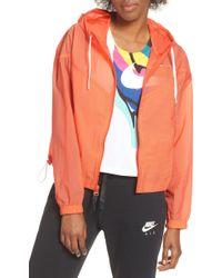 41557486 Nike Sportswear Puffer Jacket in White - Lyst