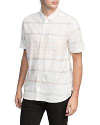 RVCA - Krazy Kat Woven Shirt - Lyst