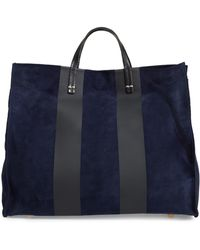 Clare V. - Simple Stripe Leather Tote - - Lyst