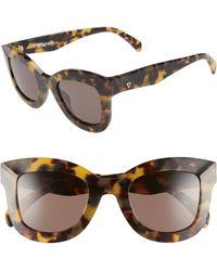 Valley Eyewear - Belgrade 48mm Cat Eye Sunglasses - Lyst