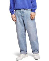 TOPMAN - Baggy Fit Jeans - Lyst