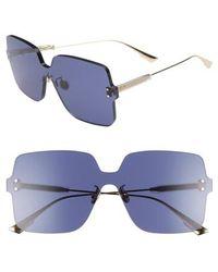 Dior - Quake1 147mm Square Rimless Shield Sunglasses - - Lyst