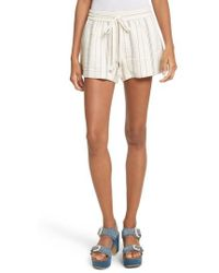 See By Chloé - Stripe Shorts - Lyst