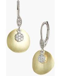 Meira T - Meirat 'charmed' Diamond Drop Earrings - Lyst