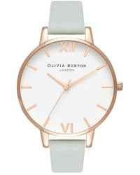 Olivia Burton - Leather Strap Watch - Lyst