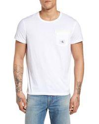 Calvin Klein Jeans - Webbed Pocket T-shirt - Lyst