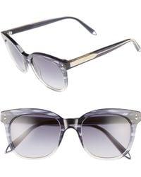 9770142a57 Victoria Beckham - The Vb 52mm Retro Sunglasses - Lyst