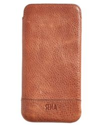 Sena - Heritage - Ultra Slim Leather Iphone 6 Plus/6s Plus Pouch - Lyst
