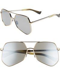 Grey Ant - Megalast Flat 61mm Sunglasses - - Lyst