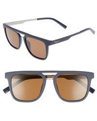 Ferragamo - 53mm Sunglasses - Lyst
