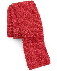 Eleventy - Knit Silk Tie - Lyst