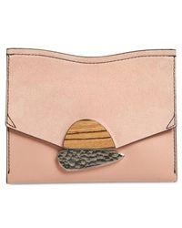 Proenza Schouler | Small Calfskin Leather Clutch | Lyst