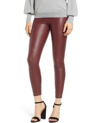 David Lerner - The Bergen Faux Leather Leggings - Lyst