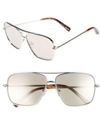 Elizabeth and James - Deacon 61mm Aviator Sunglasses - Lyst