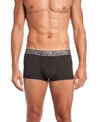 Calvin Klein - Stretch Low Rise Trunks - Lyst