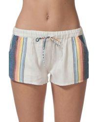 Rip Curl | Beach Bazaar Cotton Shorts | Lyst